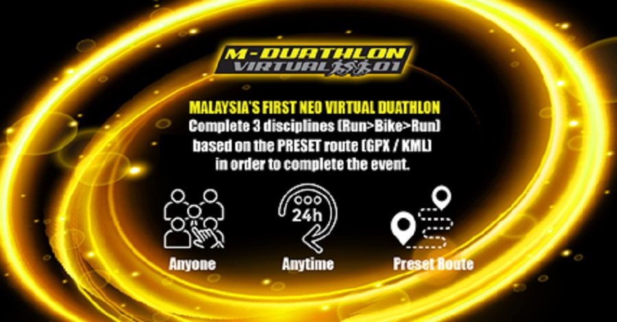 M-Duathlon Virtual 01 2020