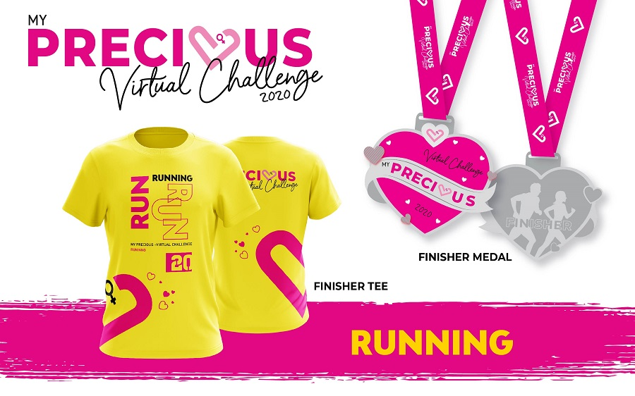 Finisher Tee And Medal - Running