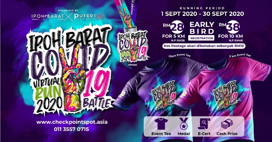Ipoh Barat Covid-19 Virtual Run 2020