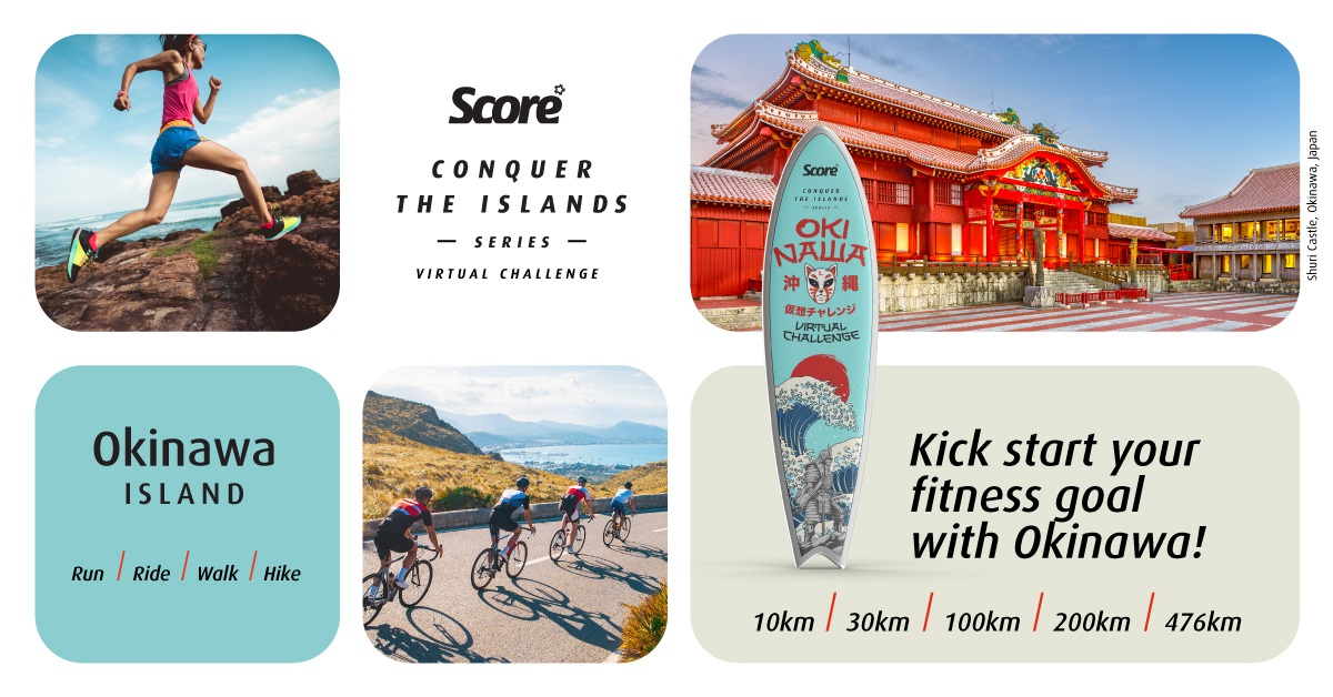 Score Conquer The Islands Series - Okinawa Island Banner