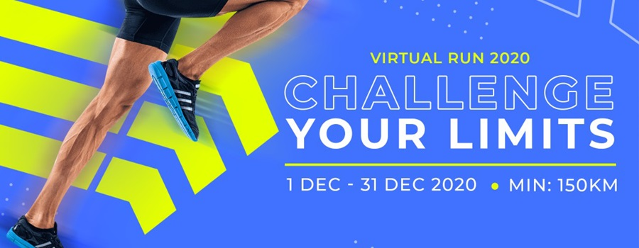 Challenge Your Limit Virtual Run 2020