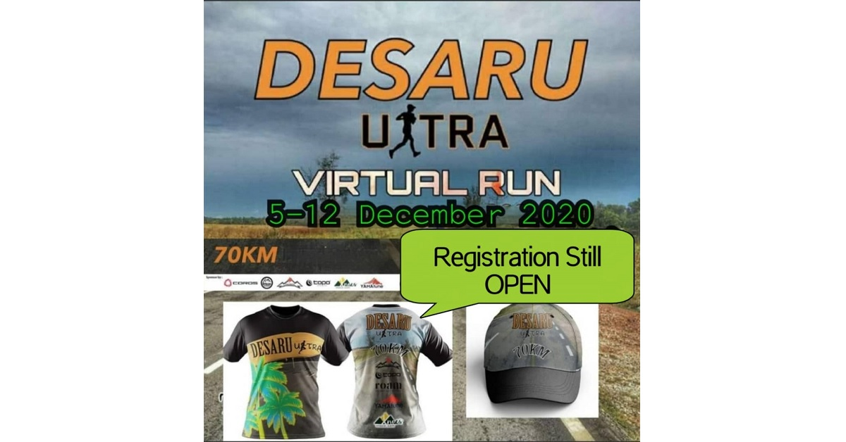 Desaru Ultra Virtual Run 2020