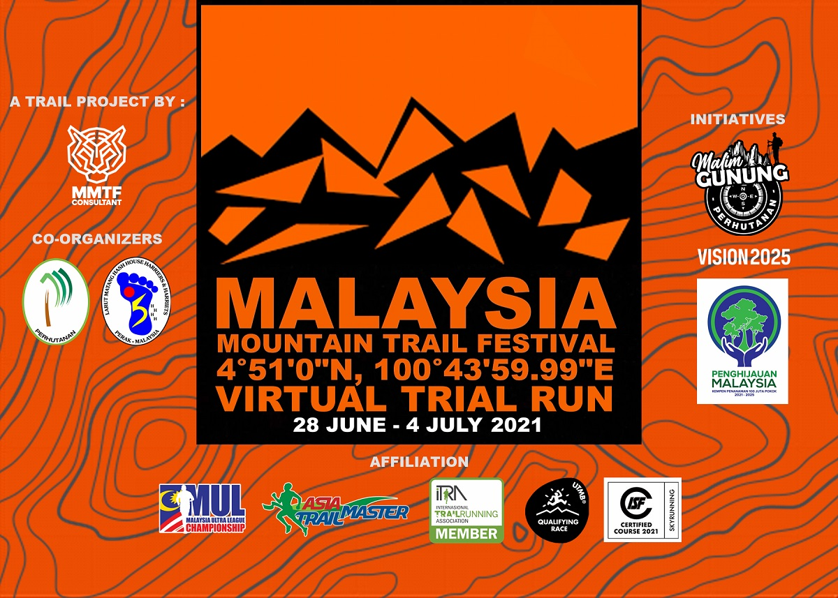 Malaysia Mountain Trail Festival Virtual Trial Run 001 @ Rising To The New Normal Banner