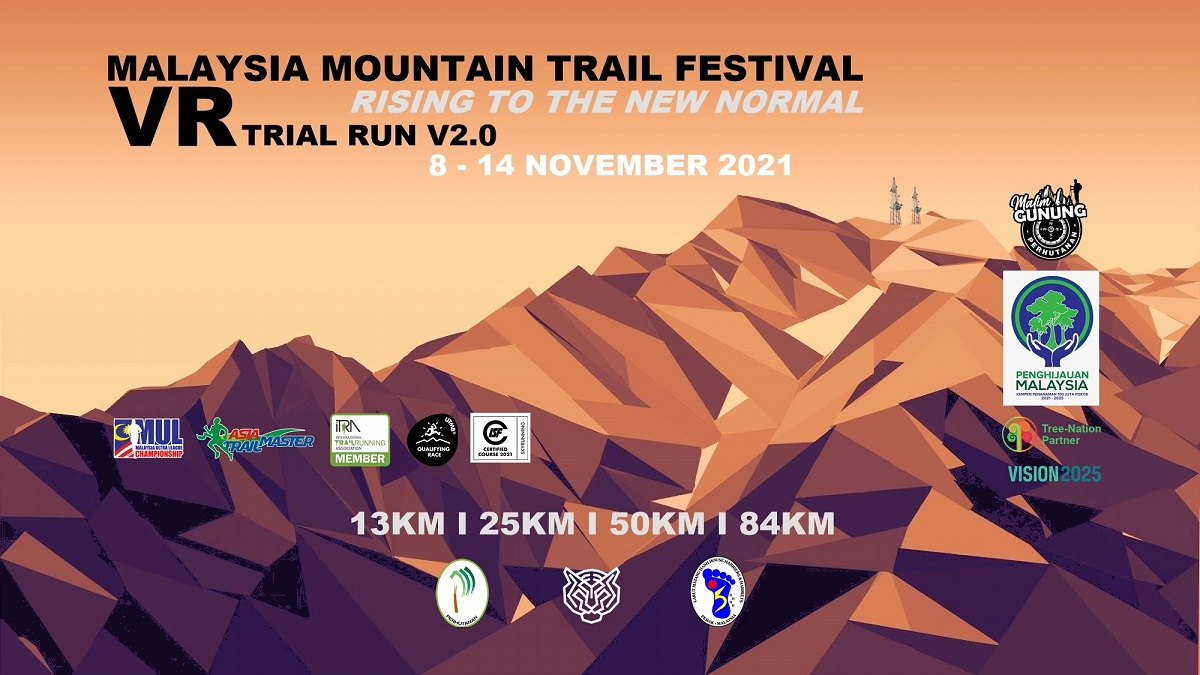 Malaysia Mountain Trail Festival Virtual Trial Run 002 @ Rising To The New Normal Banner