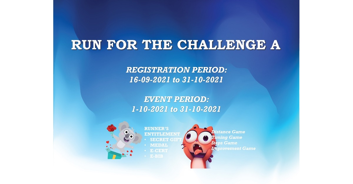 Run For The Challenge A