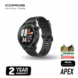 COROS APEX 46mm Premium Multisportwatch