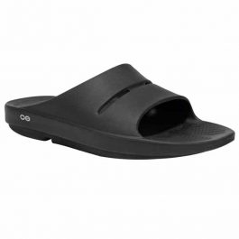 OOFOS Men OOahh Slide – Black