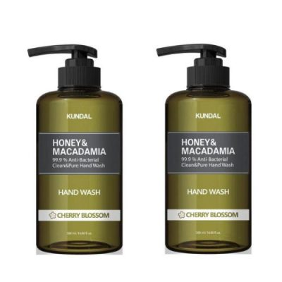 KUNDAL Honey & Macadamia Antibacterial Hand Wash 500ml