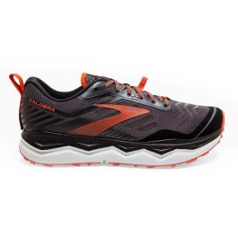 Brooks Men Caldera 4 – Black/Grey/Burnt Ochre