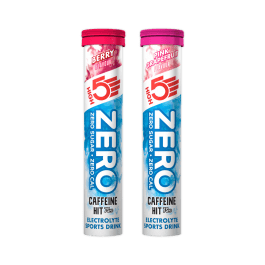 ZERO CAFFEINE HIT : Zero calorie electrolyte sports drink tabs with 75mg caffeine. (3 Tubes)