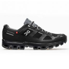 ON Men CloudVenture Waterproof – Black/Graphit