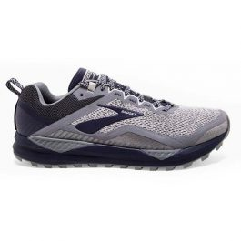 Brooks Men Cascadia 14 (2E Wide) – Grey/Navy