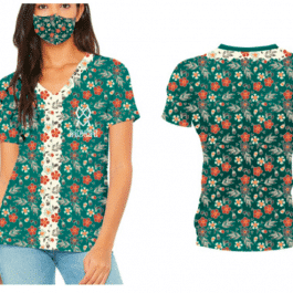 THE DAHLIA COLLECTION SHORT SLEEVES TSHIRT