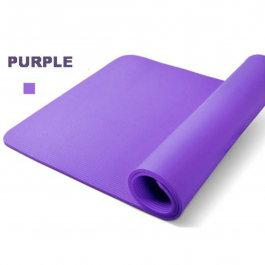 NBE 10MM Exercise Yoga Mat – Purple