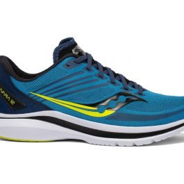 Saucony Men Kinvara 12 (2E Wide) – Cobalt/Citrus